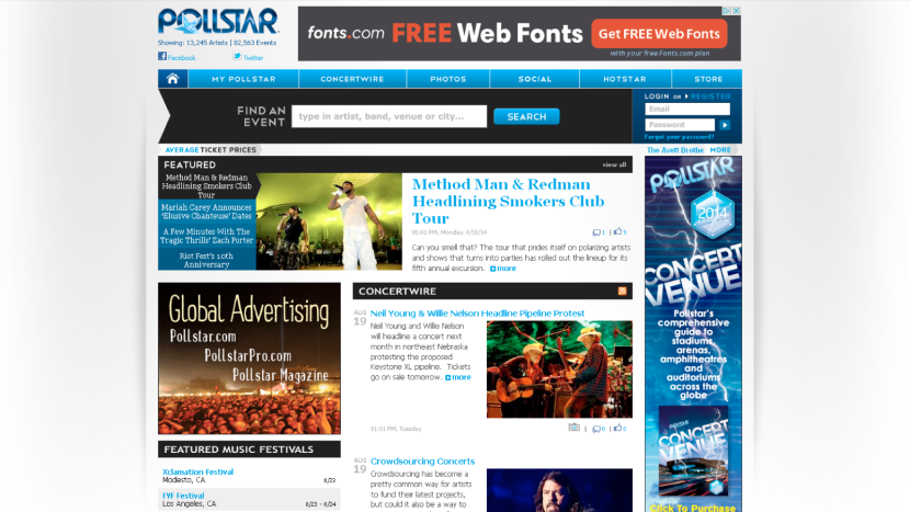 ALL Entertainment is proud to welcome Pollstar to its advisory panel